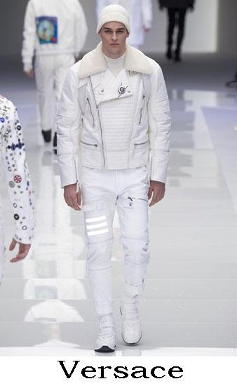 Versace Autunno Inverno 2016 2017 Moda Uomo Look 18