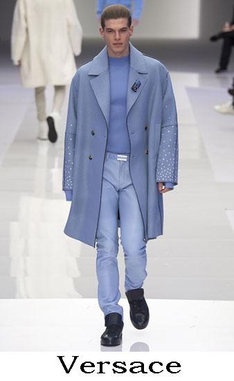 Versace Autunno Inverno 2016 2017 Moda Uomo Look 22