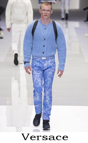 Versace Autunno Inverno 2016 2017 Moda Uomo Look 23