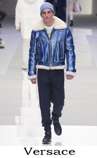 Versace Autunno Inverno 2016 2017 Moda Uomo Look 24