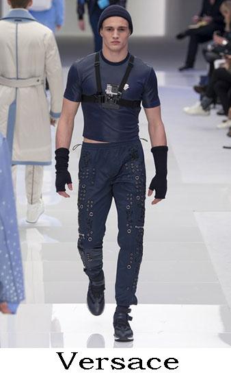 Versace Autunno Inverno 2016 2017 Moda Uomo Look 26