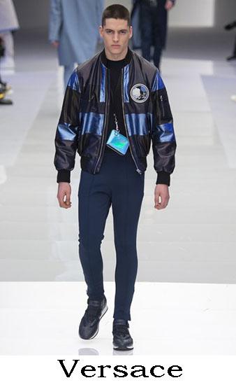 Versace Autunno Inverno 2016 2017 Moda Uomo Look 27
