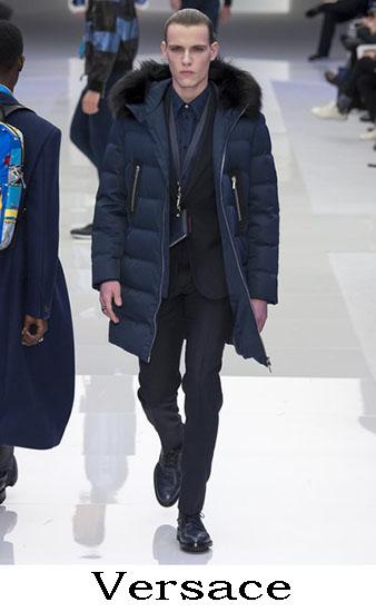 Versace Autunno Inverno 2016 2017 Moda Uomo Look 29