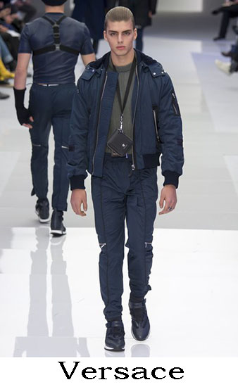 Versace Autunno Inverno 2016 2017 Moda Uomo Look 30