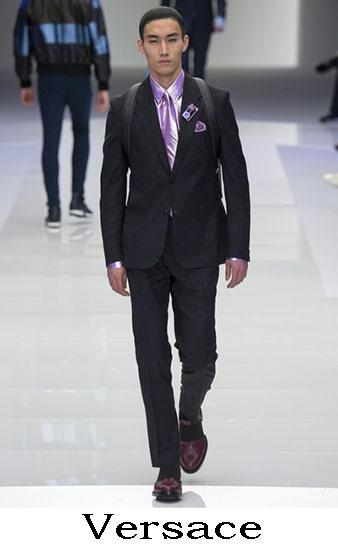 Versace Autunno Inverno 2016 2017 Moda Uomo Look 32