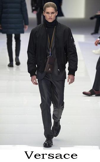 Versace Autunno Inverno 2016 2017 Moda Uomo Look 34