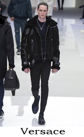 Versace Autunno Inverno 2016 2017 Moda Uomo Look 35