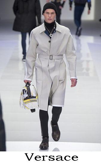 Versace Autunno Inverno 2016 2017 Moda Uomo Look 36