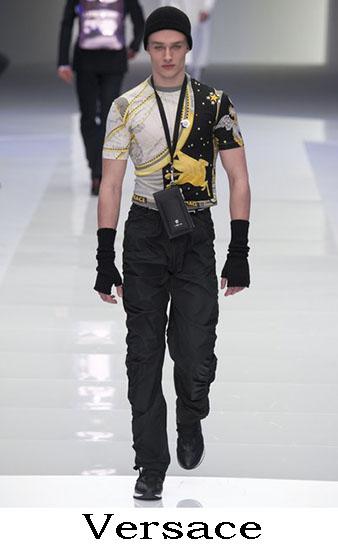 Versace Autunno Inverno 2016 2017 Moda Uomo Look 37