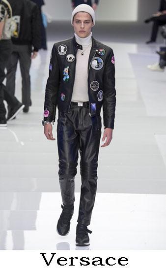 Versace Autunno Inverno 2016 2017 Moda Uomo Look 39