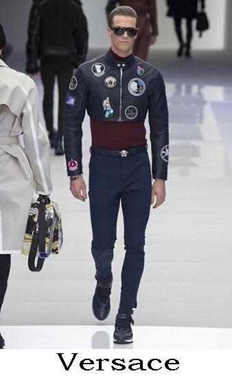 Versace Autunno Inverno 2016 2017 Moda Uomo Look 40