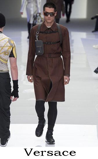 Versace Autunno Inverno 2016 2017 Moda Uomo Look 41