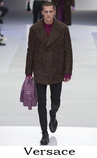 Versace Autunno Inverno 2016 2017 Moda Uomo Look 42