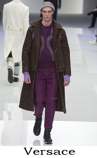 Versace Autunno Inverno 2016 2017 Moda Uomo Look 43