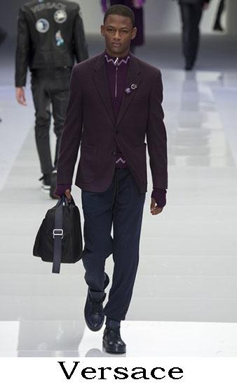Versace Autunno Inverno 2016 2017 Moda Uomo Look 44