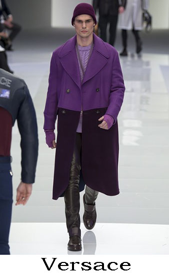 Versace Autunno Inverno 2016 2017 Moda Uomo Look 45