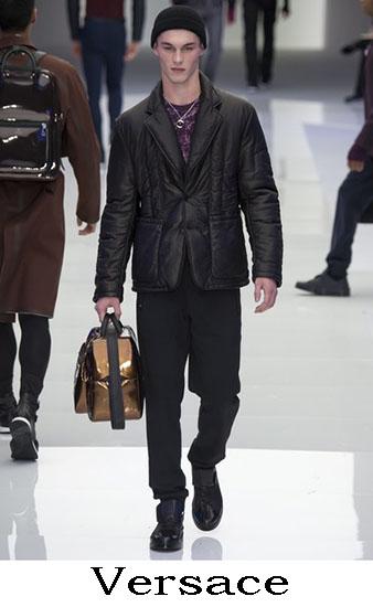 Versace Autunno Inverno 2016 2017 Moda Uomo Look 46