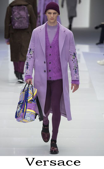 Versace Autunno Inverno 2016 2017 Moda Uomo Look 48