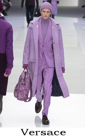 Versace Autunno Inverno 2016 2017 Moda Uomo Look 49