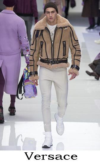 Versace Autunno Inverno 2016 2017 Moda Uomo Look 52