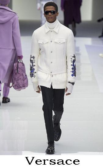Versace Autunno Inverno 2016 2017 Moda Uomo Look 54