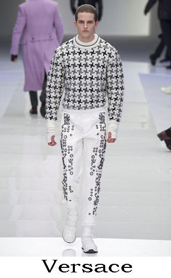Versace Autunno Inverno 2016 2017 Moda Uomo Look 55