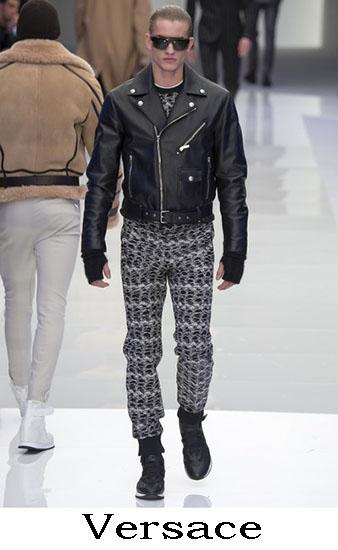 Versace Autunno Inverno 2016 2017 Moda Uomo Look 56