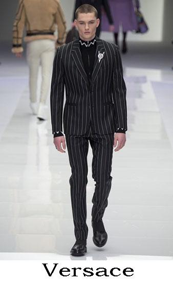 Versace Autunno Inverno 2016 2017 Moda Uomo Look 57