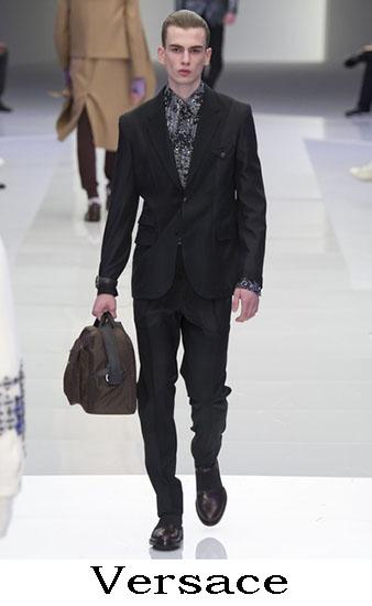 Versace Autunno Inverno 2016 2017 Moda Uomo Look 58