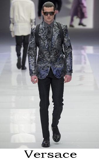 Versace Autunno Inverno 2016 2017 Moda Uomo Look 59