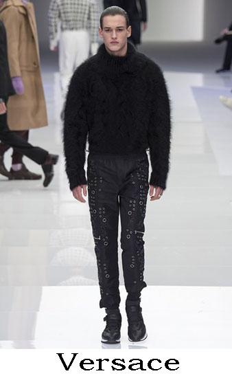 Versace Autunno Inverno 2016 2017 Moda Uomo Look 60