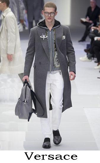 Versace Autunno Inverno 2016 2017 Moda Uomo Look 7