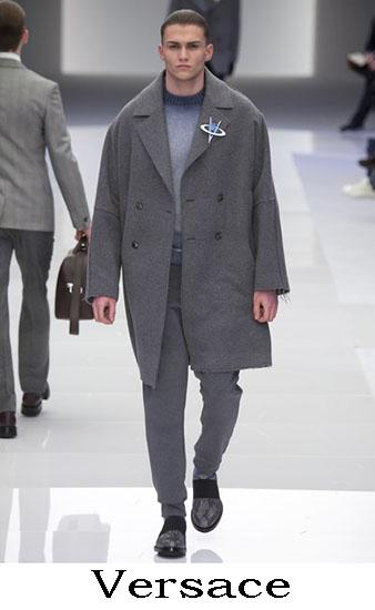 Versace Autunno Inverno 2016 2017 Moda Uomo Look 8