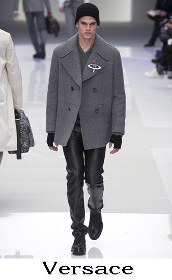 Versace Autunno Inverno 2016 2017 Moda Uomo Look 9