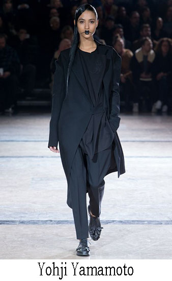 Yohji Yamamoto Autunno Inverno 2016 2017 Donna 10
