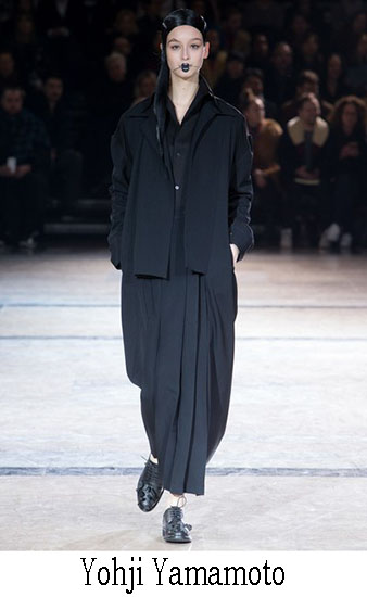 Yohji Yamamoto Autunno Inverno 2016 2017 Donna 11