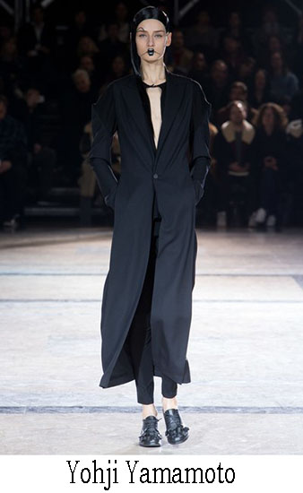 Yohji Yamamoto Autunno Inverno 2016 2017 Donna 16