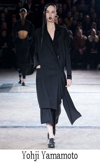 Yohji Yamamoto Autunno Inverno 2016 2017 Donna 17