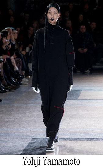 Yohji Yamamoto Autunno Inverno 2016 2017 Donna 24