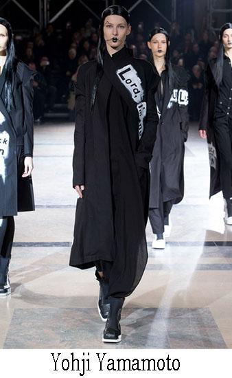 Yohji Yamamoto Autunno Inverno 2016 2017 Donna 34