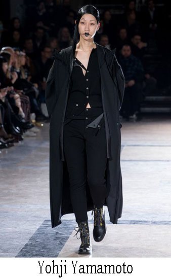 Yohji Yamamoto Autunno Inverno 2016 2017 Donna 7