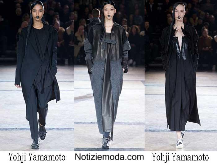 Yohji Yamamoto Autunno Inverno 2016 2017 Donna