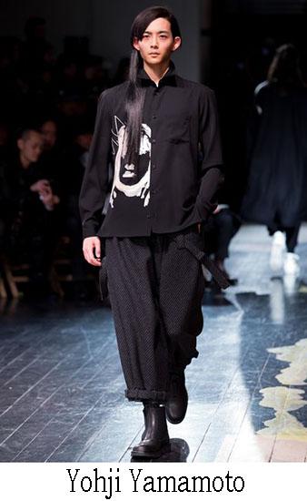 Yohji Yamamoto Autunno Inverno 2016 2017 Uomo 31