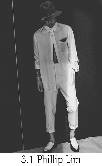 3.1 Phillip Lim Primavera Estate 2017 Moda Uomo Look 19