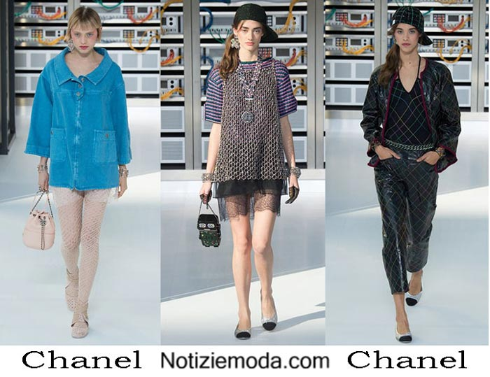 Chanel Primavera Estate 2017 Sfilata Moda Donna