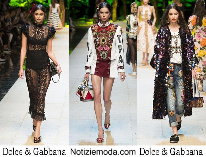Dolce Gabbana Primavera Estate 2017 Abbigliamento