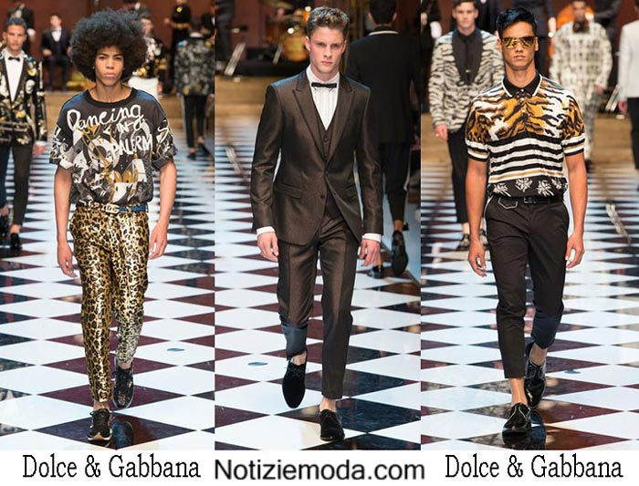 Dolce Gabbana Primavera Estate 2017 Sfilata Moda Uomo