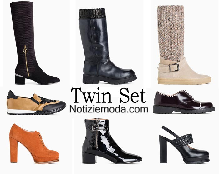 Scarpe Twin Set Autunno Inverno 2016 2017 Donna