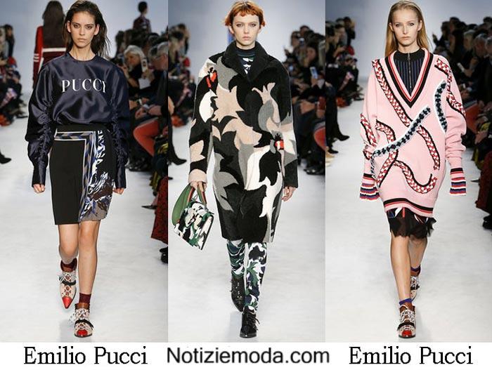Style Emilio Pucci Autunno Inverno 2016 2017 Donna