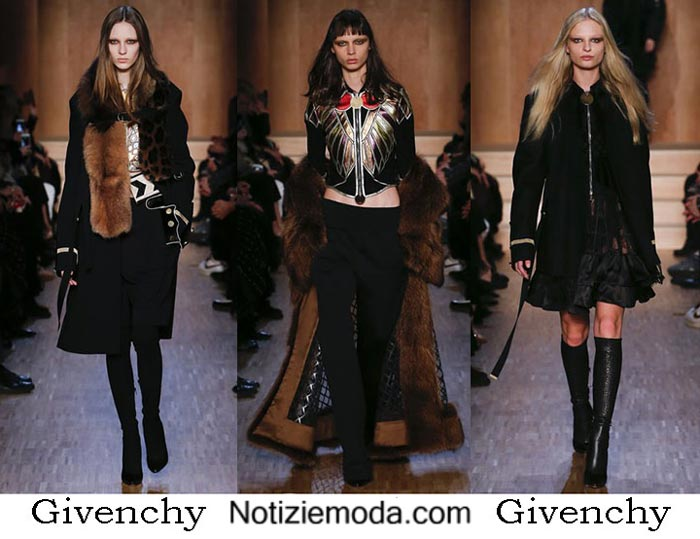 Style Givenchy Autunno Inverno 2016 2017 Donna